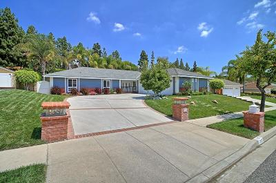 Thousand Oaks Single Family Home Active Under Contract: 1383 Uppingham Drive