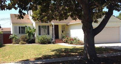 Ventura Single Family Home For Sale: 3158 Trinity Drive
