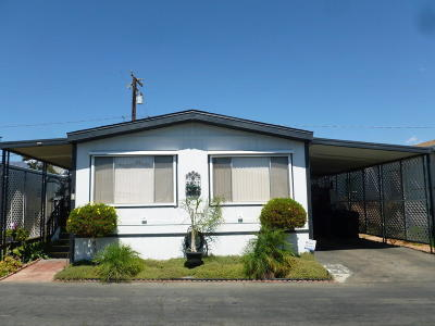 Santa Paula Mobile Home Active Under Contract: 720 W Santa Maria W #6