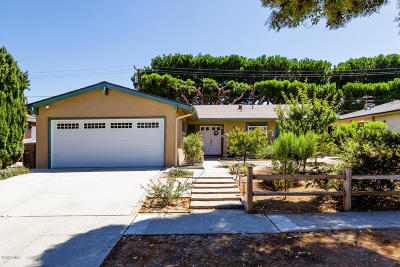 Ventura Single Family Home Active Under Contract: 7240 Lemur Street