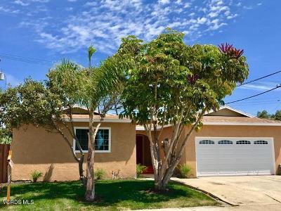 Oxnard Single Family Home For Sale: 1621 W Birch Street