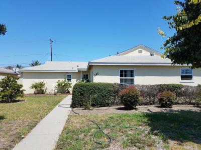 Oxnard Single Family Home For Sale: 585 E Channel Islands Boulevard