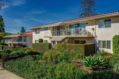 Santa Barbara Single Family Home For Sale: 26 W Constance Avenue W #6