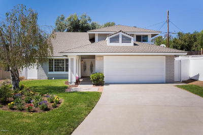 Thousand Oaks Single Family Home For Sale: 2733 Calle Bienvenido