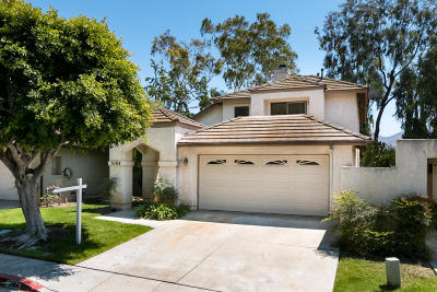 Camarillo Single Family Home For Sale: 5184 Galano Drive