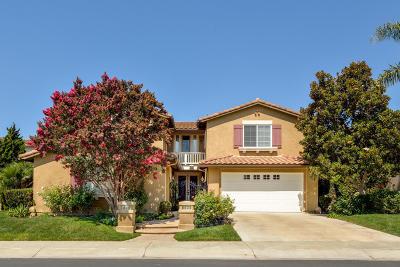 Camarillo Single Family Home Active Under Contract: 2993 Avenida De Autlan