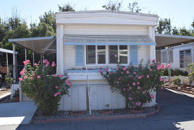 Camarillo Mobile Home Active Under Contract: 4388 Central Avenue #126