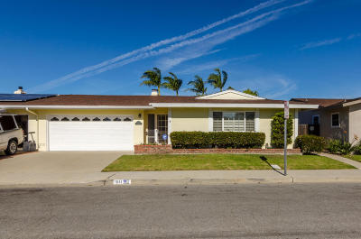 Port Hueneme Single Family Home Active Under Contract: 311 E Fiesta Green