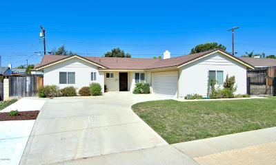 Camarillo Single Family Home Active Under Contract: 1851 Wolverton Avenue