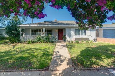 Ojai Single Family Home For Sale: 2451 Bonmark Drive
