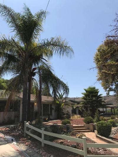 Thousand Oaks Single Family Home Active Under Contract: 1782 Los Feliz Drive