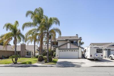 Camarillo Single Family Home For Sale: 5258 Hillridge Drive