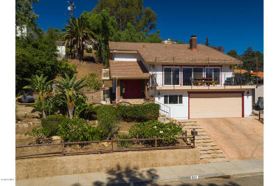 Santa Paula Single Family Home For Sale: 833 Loma Vista Place