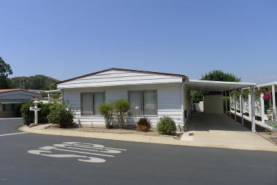 Camarillo Mobile Home For Sale: 35 Gitana Avenue #135