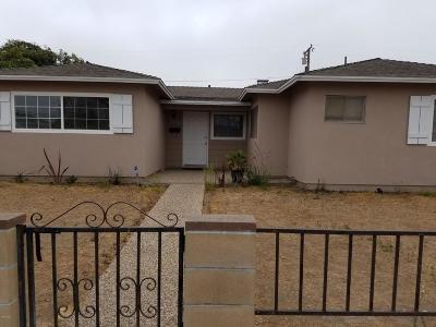 Oxnard Single Family Home Active Under Contract: 3022 S E Street