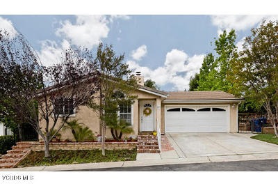 Westlake Village Single Family Home Active Under Contract: 167 Little John Lane
