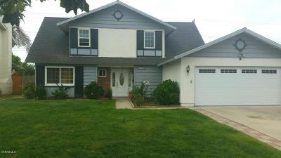 Camarillo Single Family Home For Sale: 2804 Munson Street