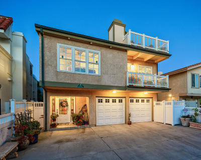 Oxnard Single Family Home For Sale: 4008 Ocean Drive