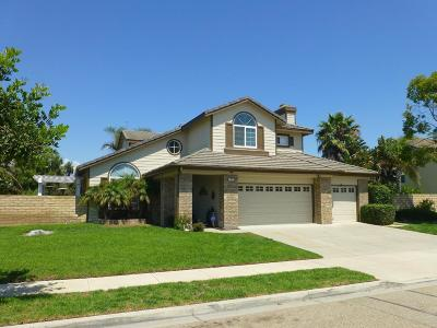 Oxnard Single Family Home Active Under Contract: 1801 Muirfield Drive