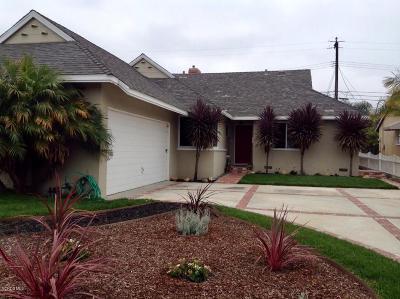 Oxnard Single Family Home Active Under Contract: 1101 Douglas Avenue