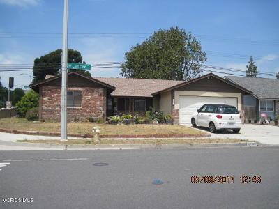Camarillo Single Family Home For Sale: 2703 Landen Street