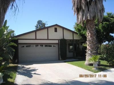 Piru Single Family Home For Sale: 3938 Citrus View Drive
