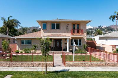 Ventura Single Family Home For Sale: 3025 Martha Drive