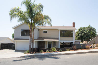 Ventura Single Family Home Active Under Contract: 719 Adirondack Avenue