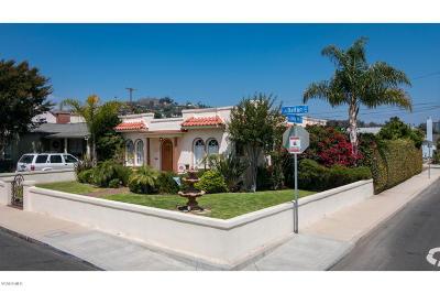 Ventura Single Family Home For Sale: 242 Dalton Street