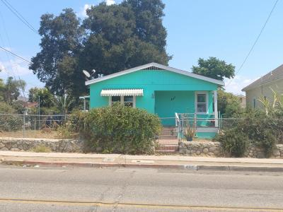 Santa Paula Single Family Home Active Under Contract: 447 12th Street