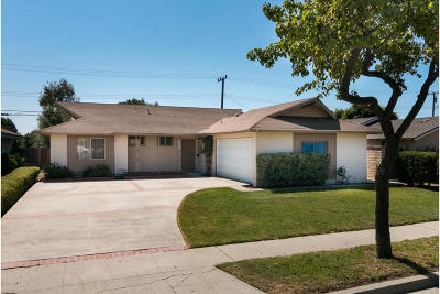 Ventura Single Family Home For Sale: 8802 Neath Street