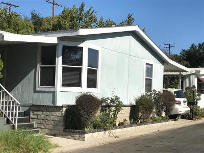 Ojai Mobile Home Active Under Contract: 950 Woodland Avenue #36