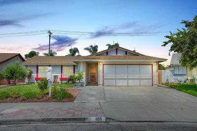 Oxnard Single Family Home Active Under Contract: 1155 Echo Street