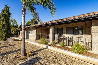 Ventura Single Family Home For Sale: 608 Via Ondulando