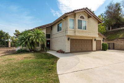 Ventura County Single Family Home For Sale: 13463 Canyonwood Court