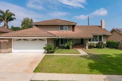 Camarillo Single Family Home For Sale: 1834 Lyndhurst Avenue