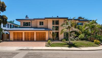 Ventura Single Family Home For Sale: 1550 Vista Del Mar Drive