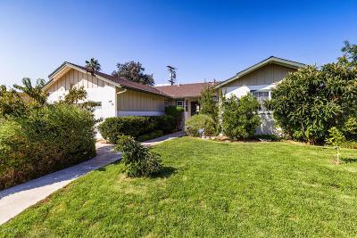 Ojai Single Family Home Active Under Contract: 106 Descanso Avenue
