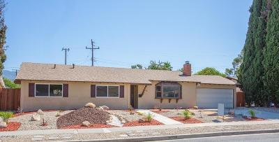 Newbury Park Single Family Home Active Under Contract: 3132 Alice Drive
