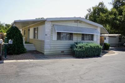 Ventura County Mobile Home Active Under Contract: 1225 S Rice Rd #71