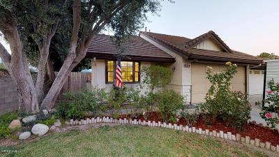 Fillmore Single Family Home Active Under Contract: 933 Oakdale Lane