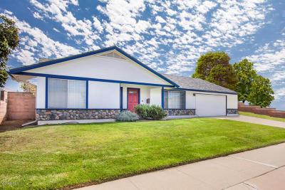 Camarillo Single Family Home For Sale: 1260 Nordman Drive