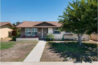 Oxnard Single Family Home For Sale: 4420 S A Street