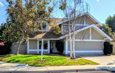 Camarillo Single Family Home For Sale: 5976 Joshua Trail