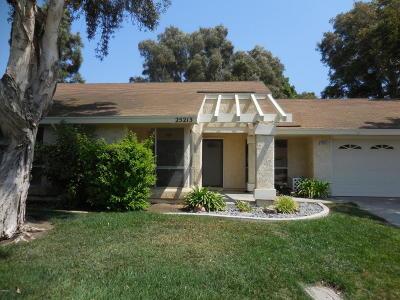 Camarillo Single Family Home Active Under Contract: 25213 Village 25
