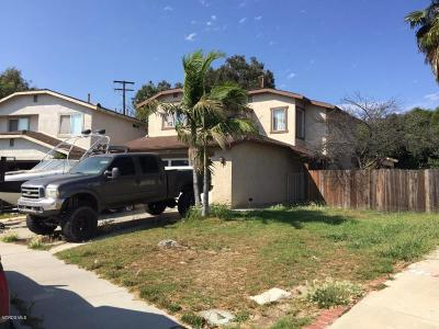 Ventura Single Family Home For Sale: 1534 Pyramid Avenue