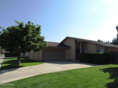 Camarillo Rental For Rent: 433 Blanco Court
