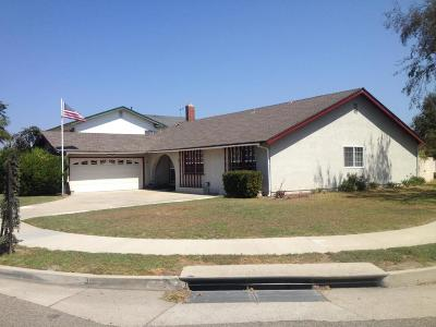 Oxnard Single Family Home Active Under Contract: 1330 Lawrence Way