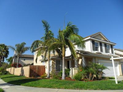 Oxnard Single Family Home Active Under Contract: 1015 Vaquero Drive