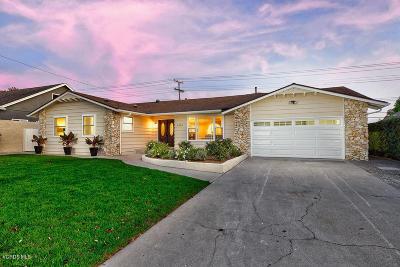 Ventura Single Family Home For Sale: 4450 Hope Street